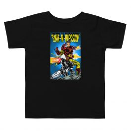 Superheroes Toddler Short Sleeve Tee