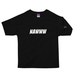 NAWWW White Letter Champion T-Shirt