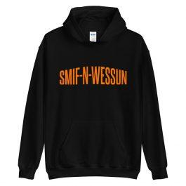 Smif-N-Wessun Orange Letter Hoodie